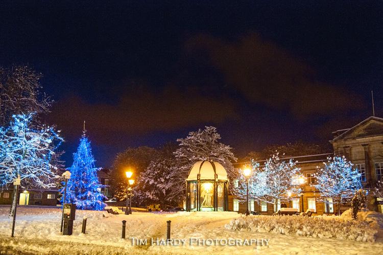 Harrogate Snowy Christmas Scene Tim Hardy Photography